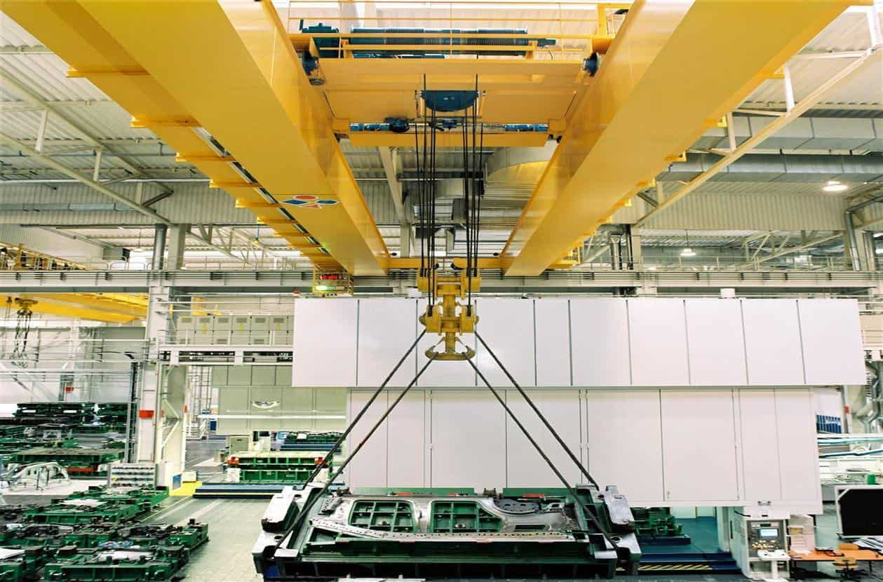 eot crane in manufacturing unit